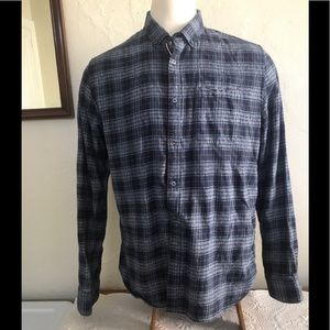 Comfortable Plaid Flannel Long Sleeve Size XL